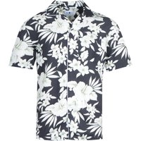 NN07 5030 Paris Floral Black Short Sleeve Shirt