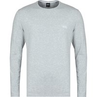 BOSS Bodywear Mix & Match Long Sleeve Grey T-Shirt