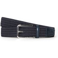 Boss Navy Clorio Braided Belt