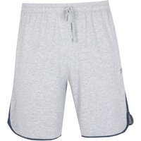 BOSS Bodywear Mix & Match Light Grey & Blue Detail Shorts