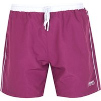 BOSS Starfish Merlot Burgundy Swim Shorts