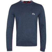 Boss Riston Crew Neck Knit Jumper