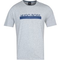 BOSS RN Identity Light Grey Marl Pyjama T-Shirt