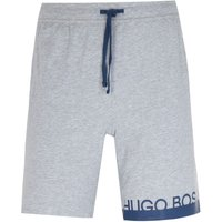 BOSS Bodywear Identity Thigh Logo Grey Sweat Shorts