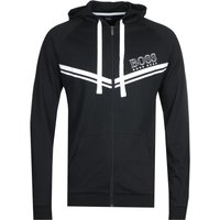 BOSS Bodywear Authentic Chevron Logo Black Hoodie