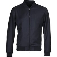BOSS Wool Slim Fit Blouson Navy Jacket