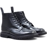 Tricker's Stow Olivvia Leather Black Brogue Boots