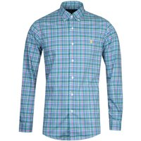 Polo Ralph Lauren Poplin Check Shirt - Blue