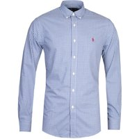 Polo Ralph Lauren Slim Fit Blue Gingham Shirt
