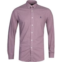Polo Ralph Lauren Slim Fit Red Gingham Shirt