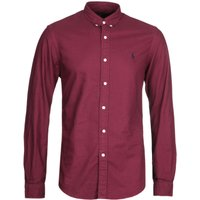Polo Ralph Lauren Garment Dyed Red Oxford Shirt
