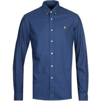 Polo Ralph Lauren Blue Custom Fit Oxford Shirt