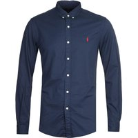 Polo Ralph Lauren Garment Dyed Chino Navy Shirt