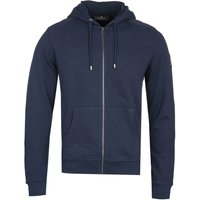 Belstaff Jessop Full Zip-Through Navy Hoodie