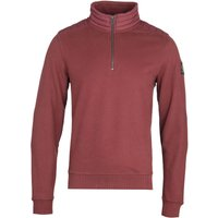 Belstaff Quarter Zip Red Sweatshirt