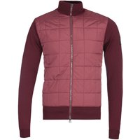 Belstaff New Kelby Red Merino Knit Zip Cardigan