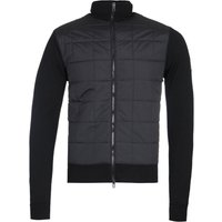 Belstaff New Kelby Black Merino Knit Zip Cardigan