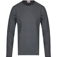 Armor Lux Mariniere Long Sleeve Navy Striped T-Shirt