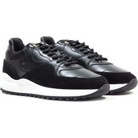 Andriod Homme Santa Monica Black Patent Suede Trainers