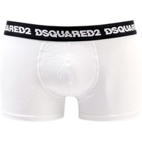 DSquared2 Logo Boxer Shorts - White