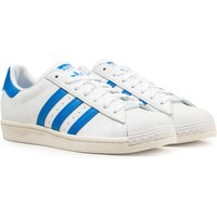 Adidas Originals Superstar Blue & White Trainers