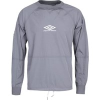 Pretty Green x Umbro Nylon Blue Training Sweatshirt