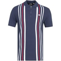 Pretty Green Colgate Short Sleeve Navy Polo Shirt