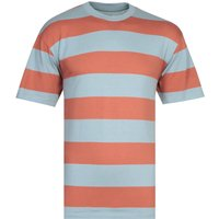 Edwin-Quarter-Olive-and-Blue-Stripe-TShirt