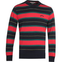 Paul & Shark Red Striped Sweatshirt