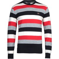 Paul & Shark Striped Knitted Sweatshirt