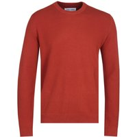 Samsoe & Samsoe Falun Crew Neck 9987 Orange Jumper