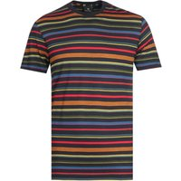 Paul-Smith-Multi-Colour-Stripe-TShirt