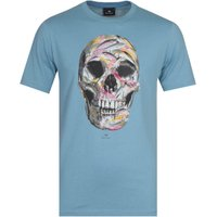 PS Paul Smith Skull Blue T-Shirt