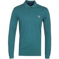 PS-Paul-Smith-Regular-Fit-Long-Sleeved-Teal-Polo-Shirt
