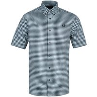 Fred Perry Ice Blue Gingham Shirt