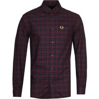 Fred Perry Winter Red Tartan Shirt