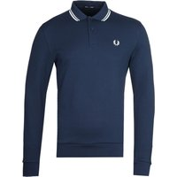 Fred-Perry-Long-Sleeve-Navy-Tipped-Polo-Shirt