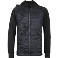 MA.STRUM Polygon Quilt Tech Black Fleece