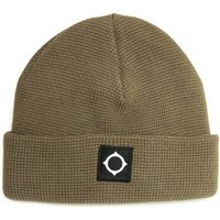 MA.STRUM Green Knit Beanie