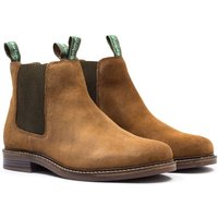 Barbour Farsley Brown Suede Chelsea Boot
