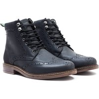 Barbour Seaton Black Brogue Boots