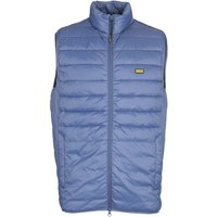Barbour International Burn Steel Blue Gilet