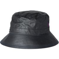 Barbour Navy Waxed Cotton Bucket Hat