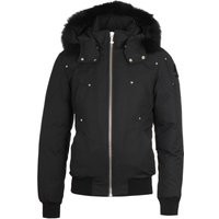 Moose Knuckles Ballistic Black Fur Jacket