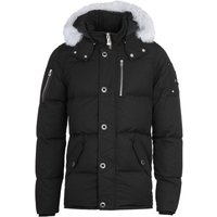 Moose Knuckles 3Q Fur Black Hooded Jacket