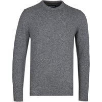 Barbour Tisbury Grey Crew Neck Knitted Sweater
