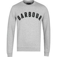 Barbour Grey Prep Logo Sweatshirt