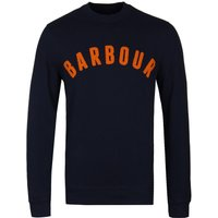 Barbour Navy Prep Logo Sweatshirt