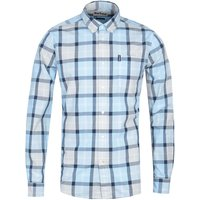 Barbour Burnside Long Sleeve Blue Check Shirt