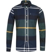 Barbour Tailored Tartan Seaweed Long Sleeve Shirt